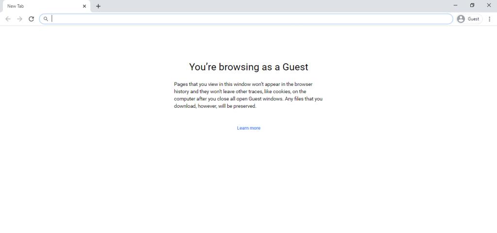 Chrome Guest Mode