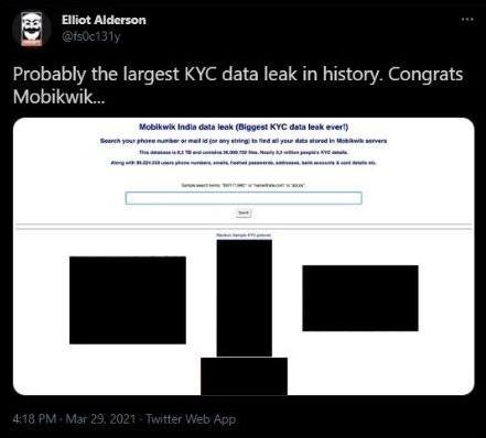 Mobikwik Data Breach