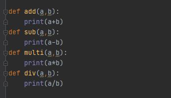 Calculator in Python