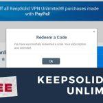 KeepSolid VPN Unlimited Free Trial