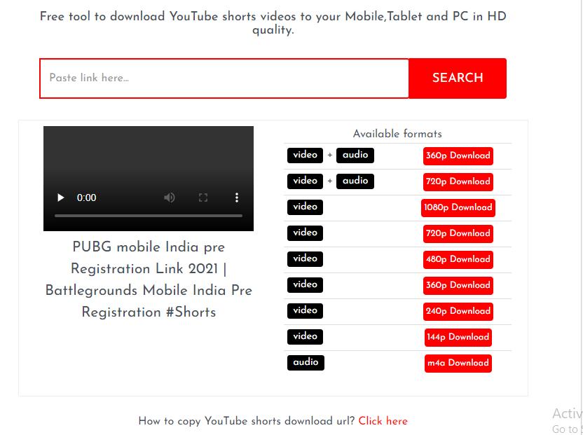 Youtube Shorts Downloader