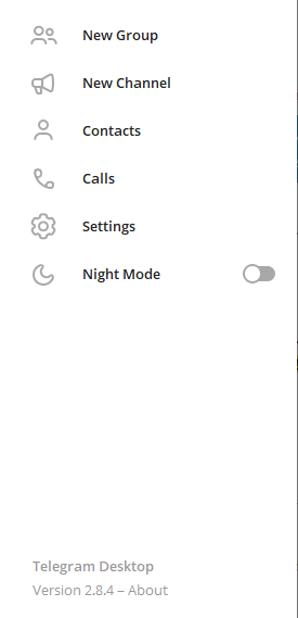 Change Telegram number, Hide Telegram Number